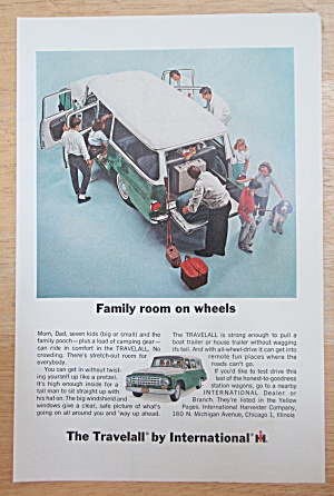 1964 International Harvester With Travelall & Family