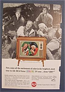1965 RCA Victor Color Television with Bonanza (Image1)