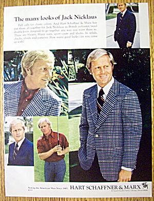 1973 Hart Schaffner & Marx with Golfer Jack Nicklaus (Image1)