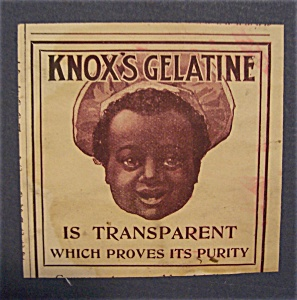 1901 Knox's Gelatine Ad with Proves Its Purity (Image1)