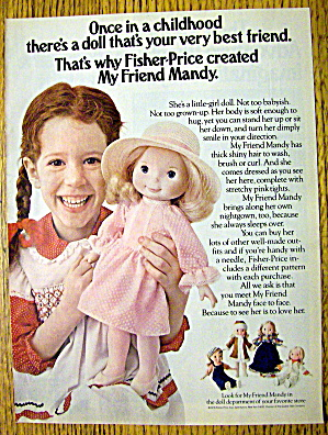 1978 Fisher Price Mandy with Little Girl & Doll (Image1)