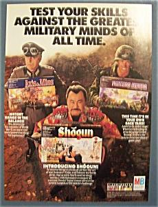 Vintage Ad: 1987 Milton Bradley Games (Image1)