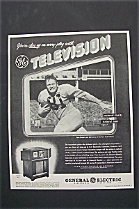 1947 General Electric Television With Spec Sanders