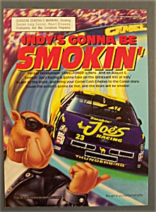 1994 Camel Cigarettes W/joe The Camel At Race Track
