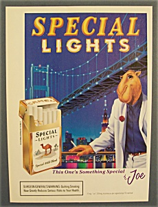 1993 Camel Cigarettes With Joe The Camel