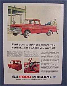 Vintage Ad: 1963 Ford Pick Ups (Image1)