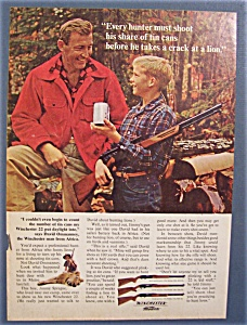 Vintage Ad: 1965 Winchester Rifles