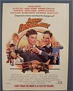 1985 Johnny Dangerously with Michael Keaton (Image1)