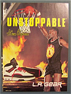 1990 L. A. Gear With Akeem Olajuwon