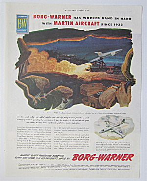 1954 Borg-warner With Martin Aircraft