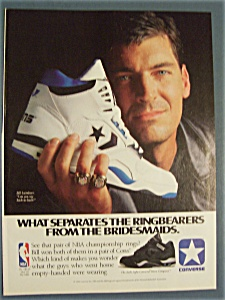 Vintage Ad: 1990 Converse Shoes with Bill Laimbeer (Image1)