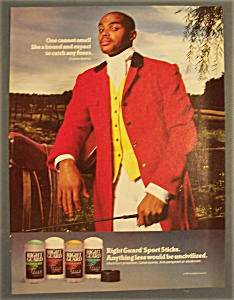 1991 Right Guard Deodorant W/charles Barkley