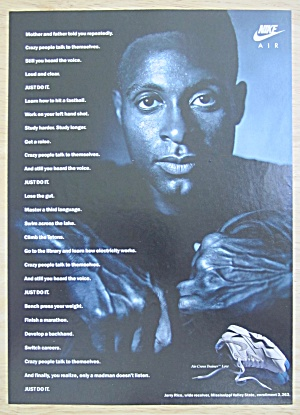1991 Nike Air with Football's Wide Receiver Jerry Rice  (Image1)