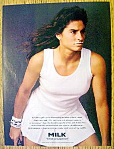 Vintage Ad: 1995 Milk with Gabriela Sabatini (Image1)