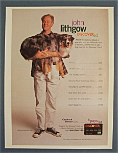 Vintage Ad: 1997  Discover  with  John  Lithgow (Image1)