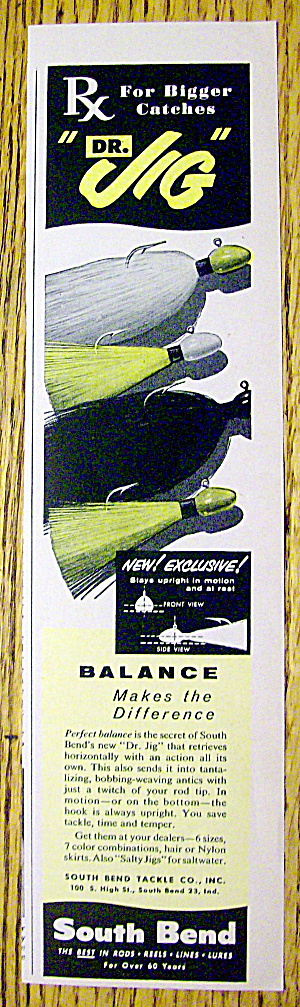 1959 South Bend Fishing Lures with Dr. Jig Lures (Image1)