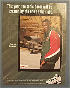Vintage Ad: 1996 Reebok With Shawn Kemp