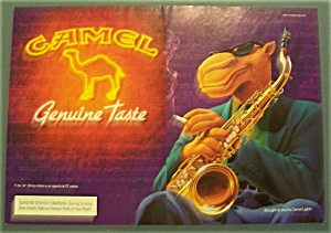 1994 Camel Cigarettes With Joe The Camel & Trumpet