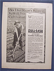 Vintage Ad: 1918 Pull - Easy Garden Cultivator