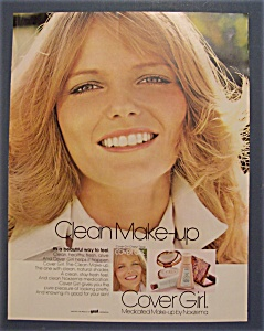 Vintage Ad: 1972 Cover Girl Make - Up with Cheryl Tiegs (Image1)