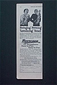1928 Buescher Band Instrument  Co w/True Tone Saxophone (Image1)
