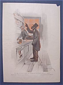 1914 Cream Of Wheat Cereal Ad With Man Pointing