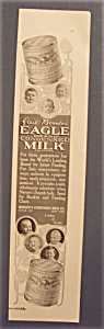 1914 Eagle Brand Condensed Milk
