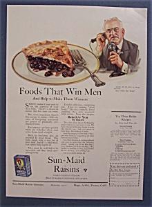 Vintage Ad: 1923 Sun-Maid Raisins (Image1)