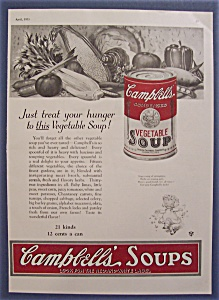 1923 Campbell's Vegetable Soup