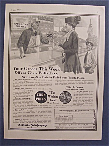 1915  Quaker  Oats  Cereal (Image1)