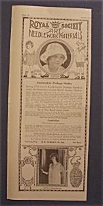 1921  Royal  Society  Art  Needlework  Materials (Image1)