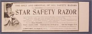 1904  Star  Safety  Razor (Image1)