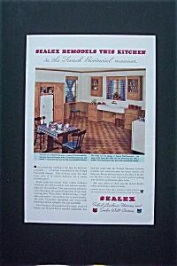 1935 Sealex Inlaid Linoleum Flooring & Wall Covering (Image1)