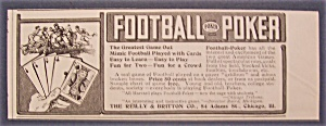 1904  Football  Poker (Image1)