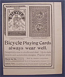 1904 Bicycle Playing Cards