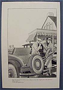 Vintage Ad: 1926 Kelly - Springfield Tires (Image1)