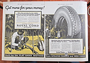1927 Royal Cord Balloon Tires with Man in Jungle  (Image1)