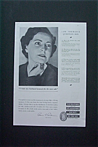 1936 Equitable Life Assurance w/ I Want Husband Insured (Image1)