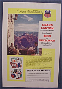 Vintage Ad: 1955  Grand  Canyon (Image1)