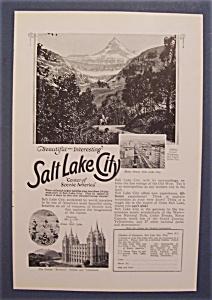 Vintage Ad: 1926  Salt  Lake  City (Image1)