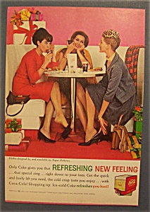 1962 Coca-cola (Coke) With Women Having Lunch
