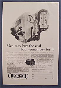 1926 Williams Oil O Matic Heating w/Woman Hanging Pic (Image1)