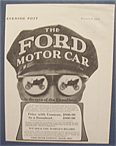 1904 The Ford Motor Car