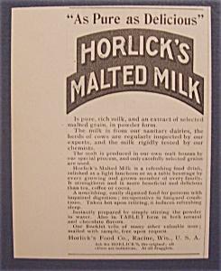1904  Horlick's  Malted  Milk (Image1)