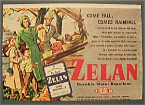 1941  Zelan  Durable  Water  Repellent (Image1)
