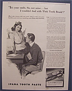 1941  Ipana  Tooth Paste (Image1)