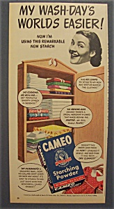 1947 Cameo Starching Powder