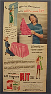 1948 Rit Fabric Tints & Dyes