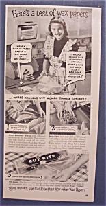 1948  Cut - Rite  Wax  Paper (Image1)