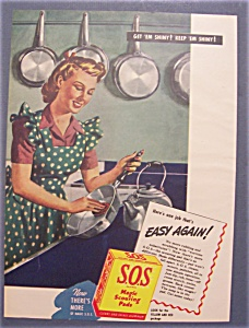 1945  S. O. S.  Magic  Scouring  Pads (Image1)